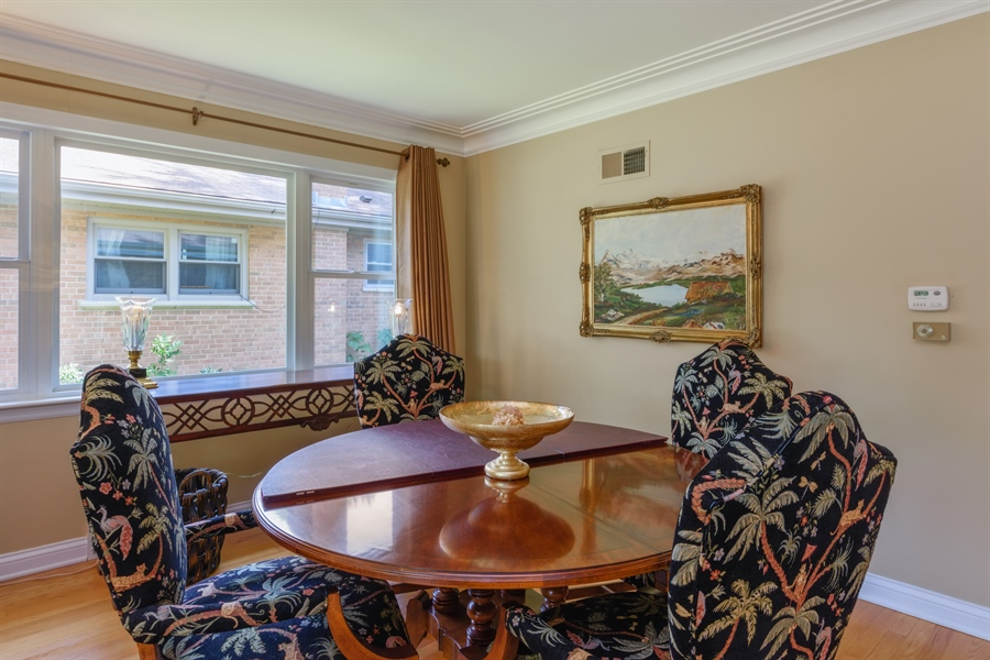 Real Estate Photography - 619 W Fairview, Arlington Heights, IL, 60005 - Dining Room