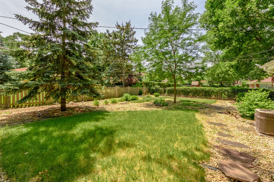 Real Estate Photography - 619 W Fairview, Arlington Heights, IL, 60005 - Back Yard