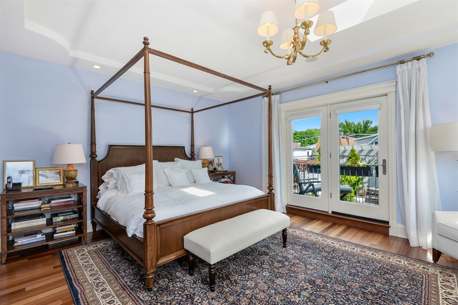Real Estate Photography - 1232 Wellington, Chicago, IL, 60657 - Master Bedroom