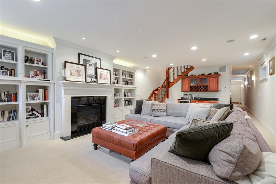 Real Estate Photography - 1232 Wellington, Chicago, IL, 60657 - Lower Level
