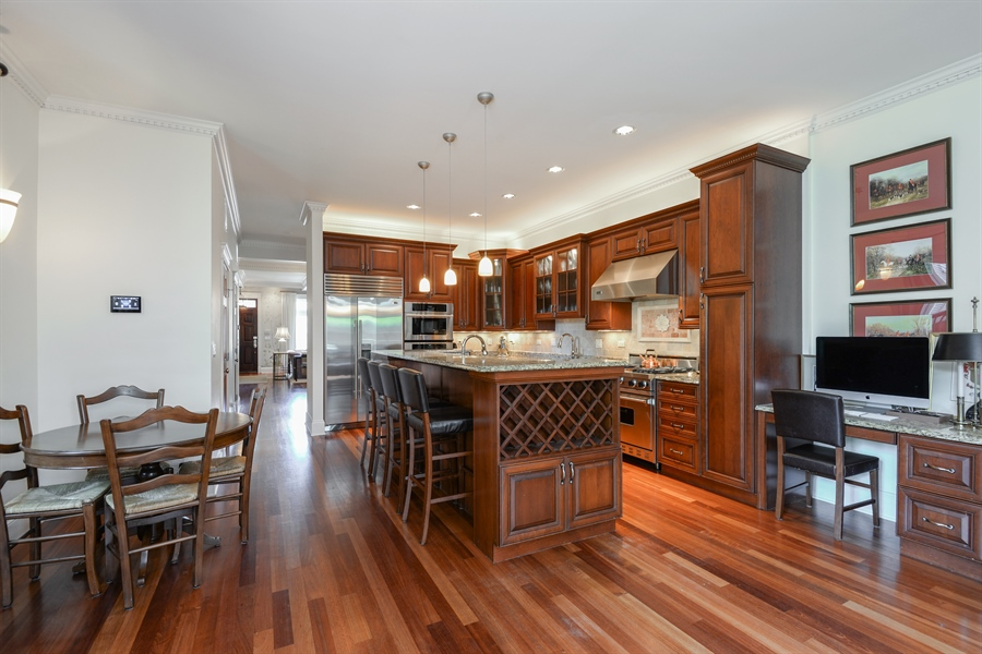 Real Estate Photography - 1232 Wellington, Chicago, IL, 60657 - Kitchen / Breakfast Room