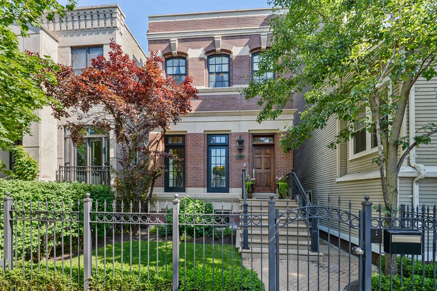 Real Estate Photography - 1232 Wellington, Chicago, IL, 60657 - Front View