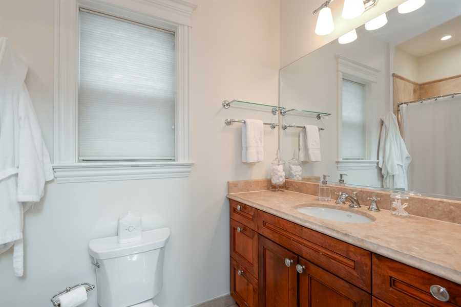 Real Estate Photography - 1232 Wellington, Chicago, IL, 60657 - Bathroom