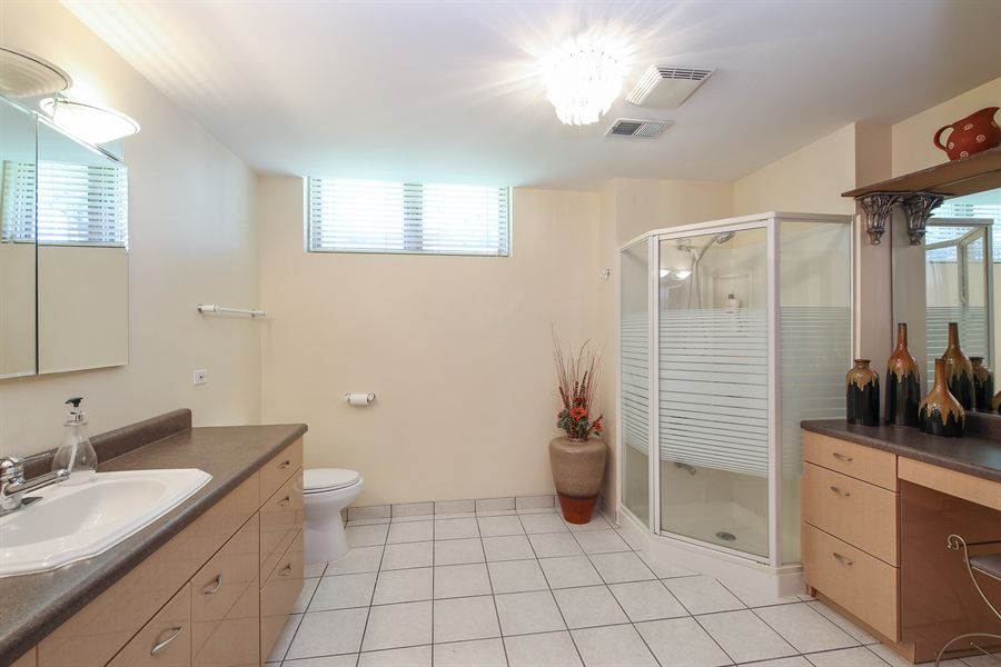 Real Estate Photography - 4307 Westview Dr, Northbrook, IL, 60062 - 3rd Bathroom