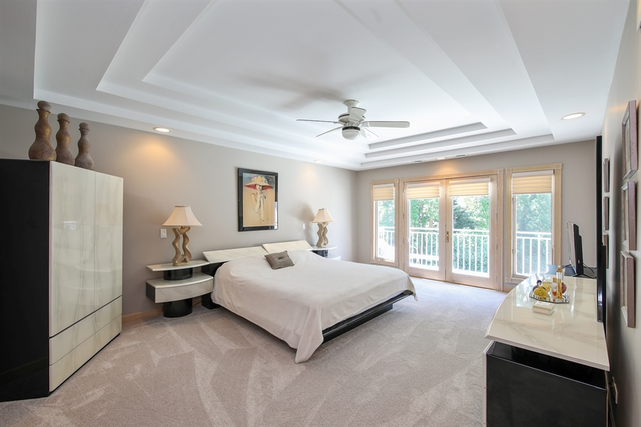 Real Estate Photography - 4307 Westview Dr, Northbrook, IL, 60062 - Master Bedroom