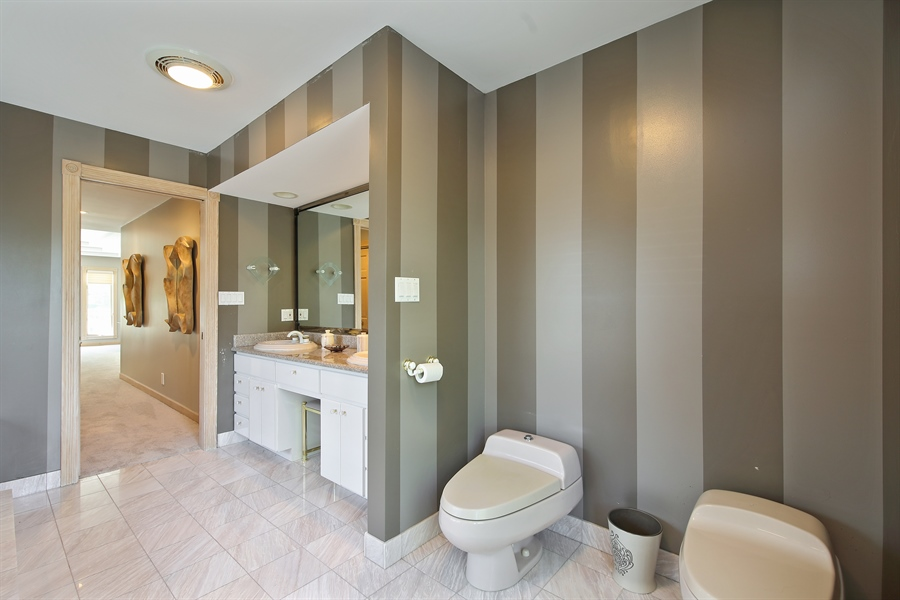 Real Estate Photography - 4307 Westview Dr, Northbrook, IL, 60062 - Master Bathroom