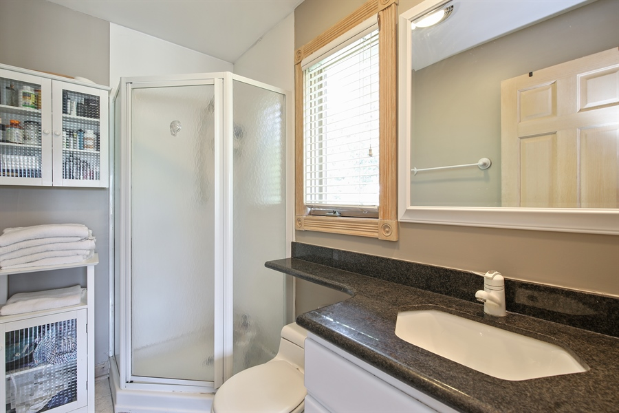 Real Estate Photography - 4307 Westview Dr, Northbrook, IL, 60062 - 2nd Bathroom