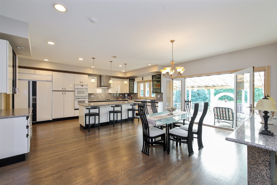 Real Estate Photography - 4307 Westview Dr, Northbrook, IL, 60062 - Kitchen / Dining Room