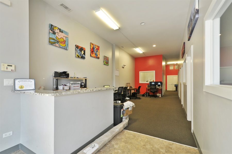 Real Estate Photography - 742 N. Ada Street, 1S, Chicago, IL, 60642 - Office