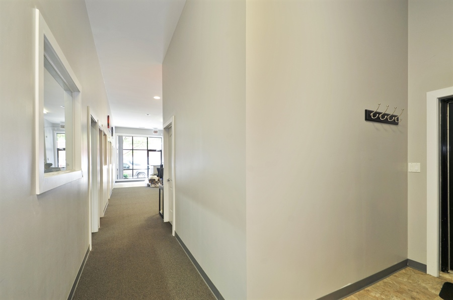 Real Estate Photography - 742 N. Ada Street, 1S, Chicago, IL, 60642 - Hallway