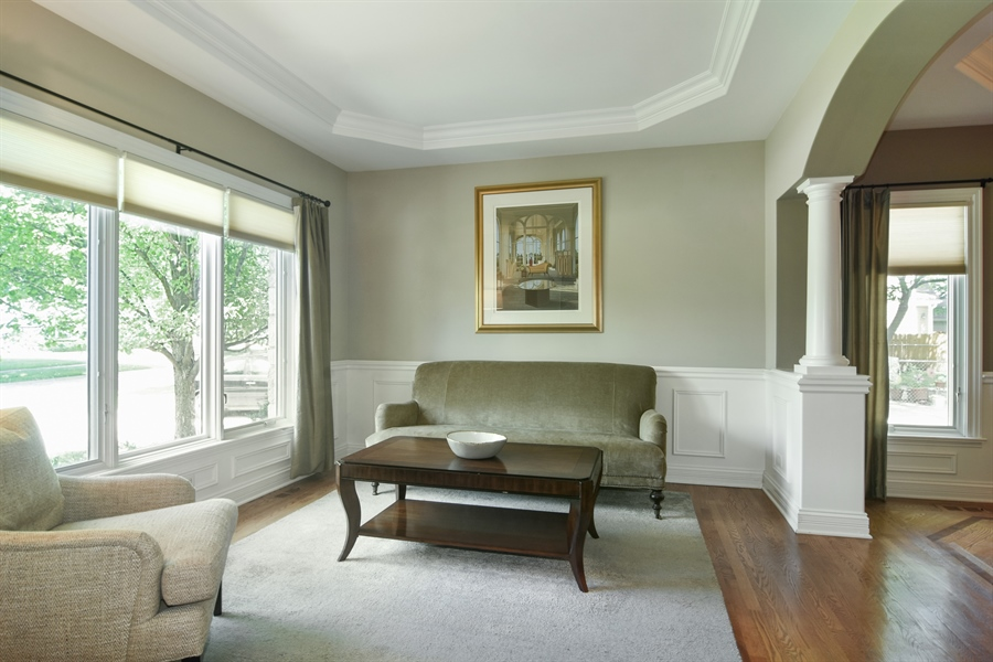 Real Estate Photography - 309 N Owen, Mount Prospect, IL, 60056 - Living Room