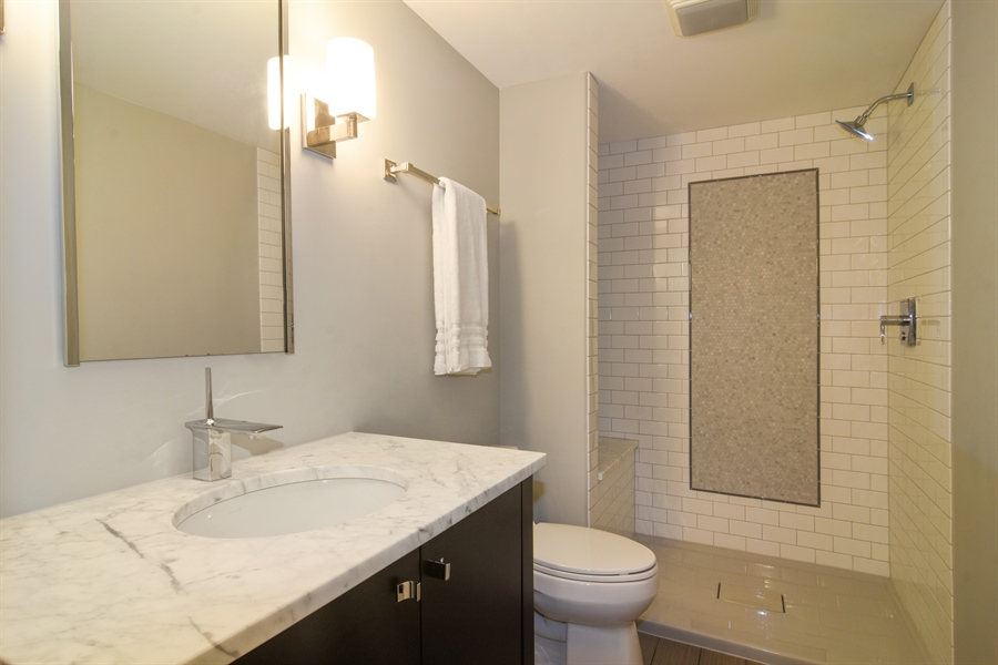 Real Estate Photography - 309 N Owen, Mount Prospect, IL, 60056 - 3rd Bathroom