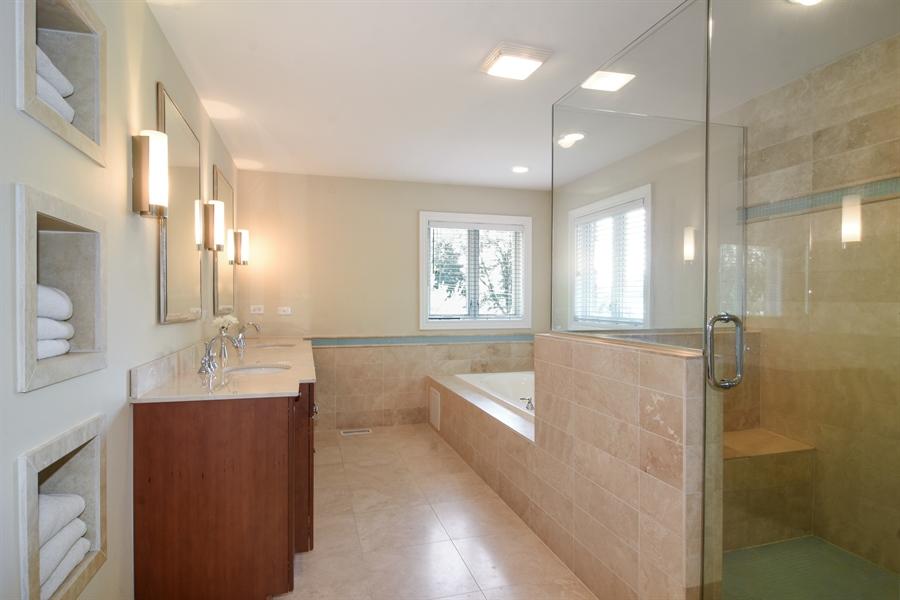 Real Estate Photography - 309 N Owen, Mount Prospect, IL, 60056 - Master Bathroom