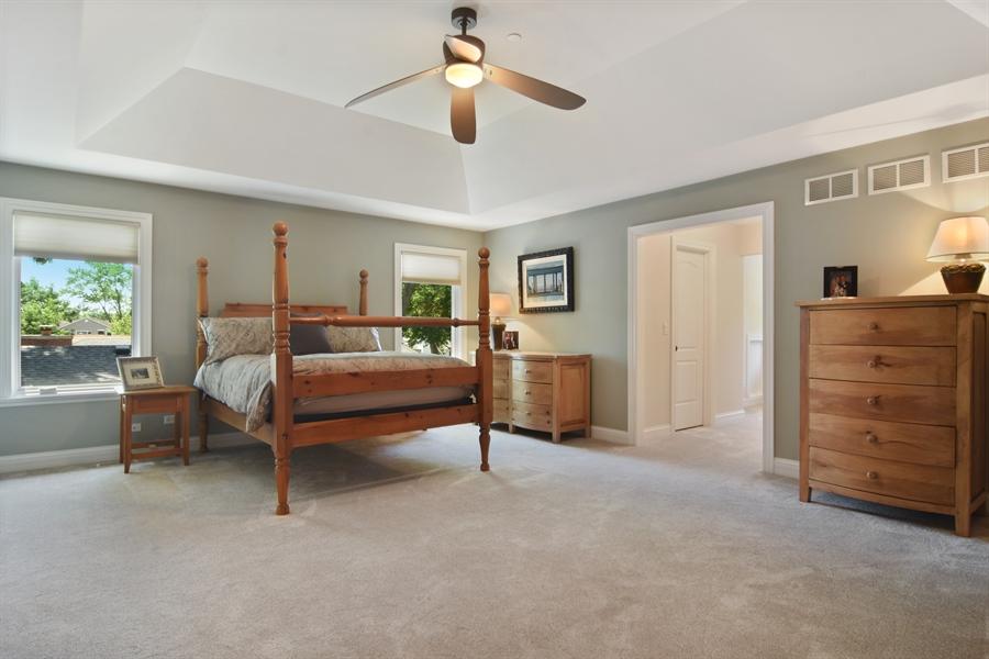 Real Estate Photography - 309 N Owen, Mount Prospect, IL, 60056 - Master Bedroom