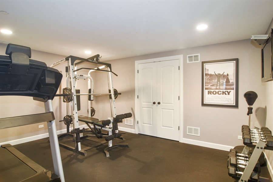 Real Estate Photography - 309 N Owen, Mount Prospect, IL, 60056 - Exercise Room