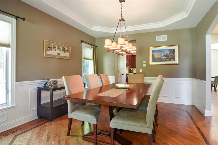 Real Estate Photography - 309 N Owen, Mount Prospect, IL, 60056 - Dining Room