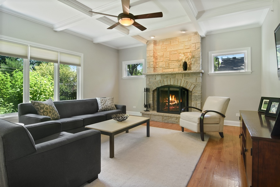 Real Estate Photography - 309 N Owen, Mount Prospect, IL, 60056 - Family Room