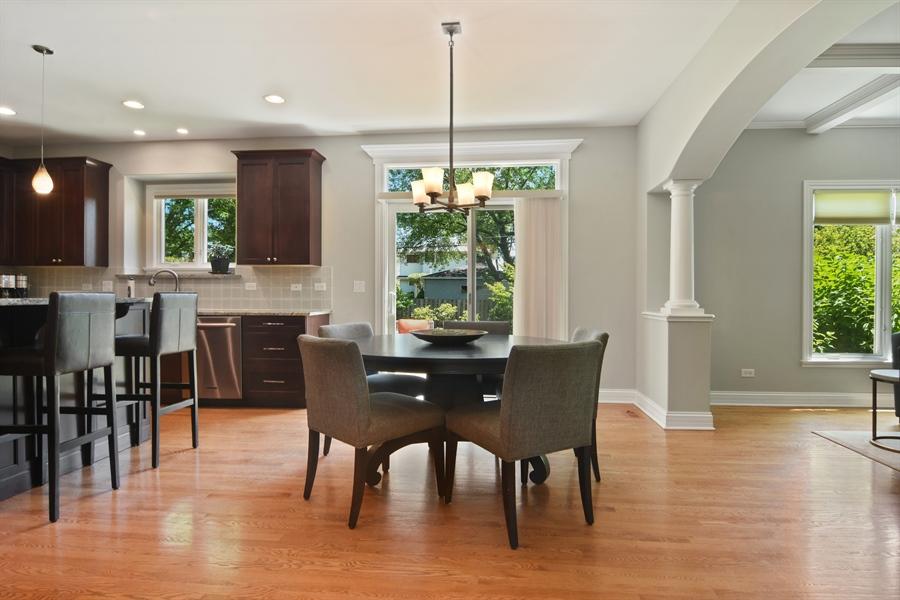 Real Estate Photography - 309 N Owen, Mount Prospect, IL, 60056 - Breakfast Nook