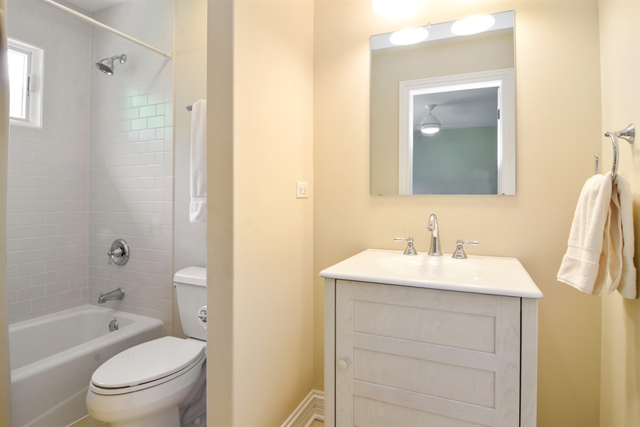 Real Estate Photography - 309 N Owen, Mount Prospect, IL, 60056 - 2nd Bathroom