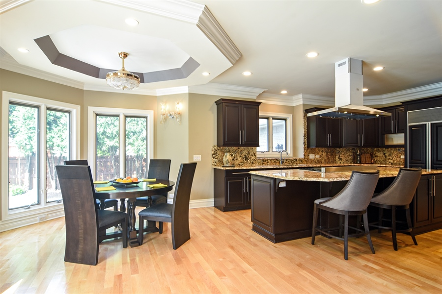 Real Estate Photography - 2227 W Lincoln St., Mount Prospect, IL, 60056 - Kitchen / Breakfast Room