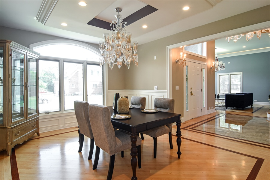 Real Estate Photography - 2227 W Lincoln St., Mount Prospect, IL, 60056 - Dining Room