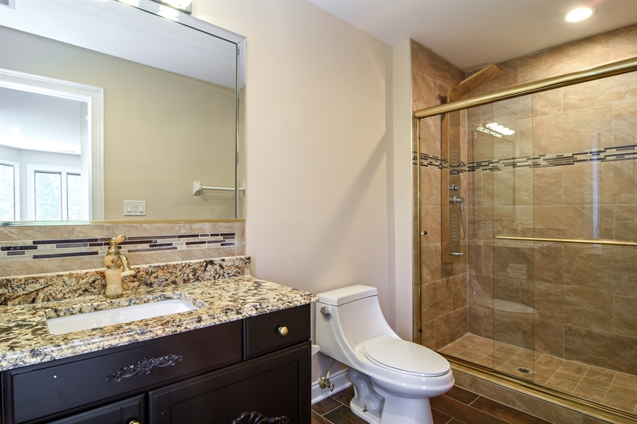 Real Estate Photography - 2227 W Lincoln St., Mount Prospect, IL, 60056 - 2nd Bathroom