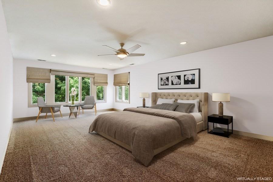 Real Estate Photography - 9 Bannockburn Ct, Bannockburn, IL, 60015 - Master Bedroom