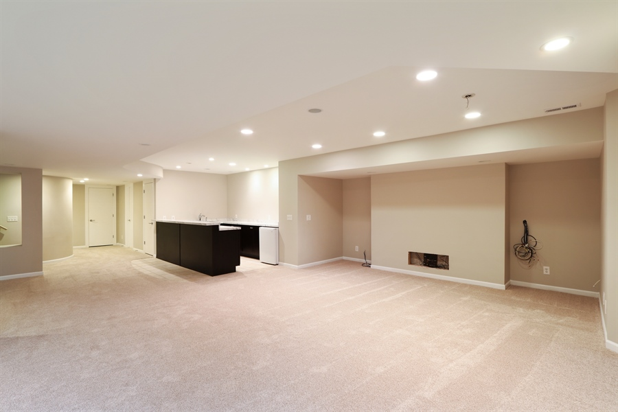 Real Estate Photography - 9 Bannockburn Ct, Bannockburn, IL, 60015 - Basement
