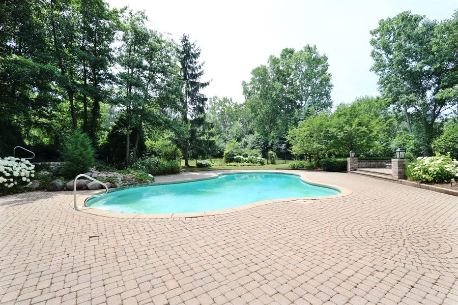 Real Estate Photography - 9 Bannockburn Ct, Bannockburn, IL, 60015 - Pool