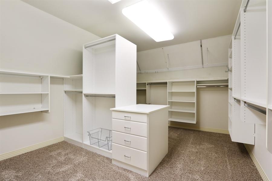 Real Estate Photography - 9 Bannockburn Ct, Bannockburn, IL, 60015 - Master Bedroom Closet