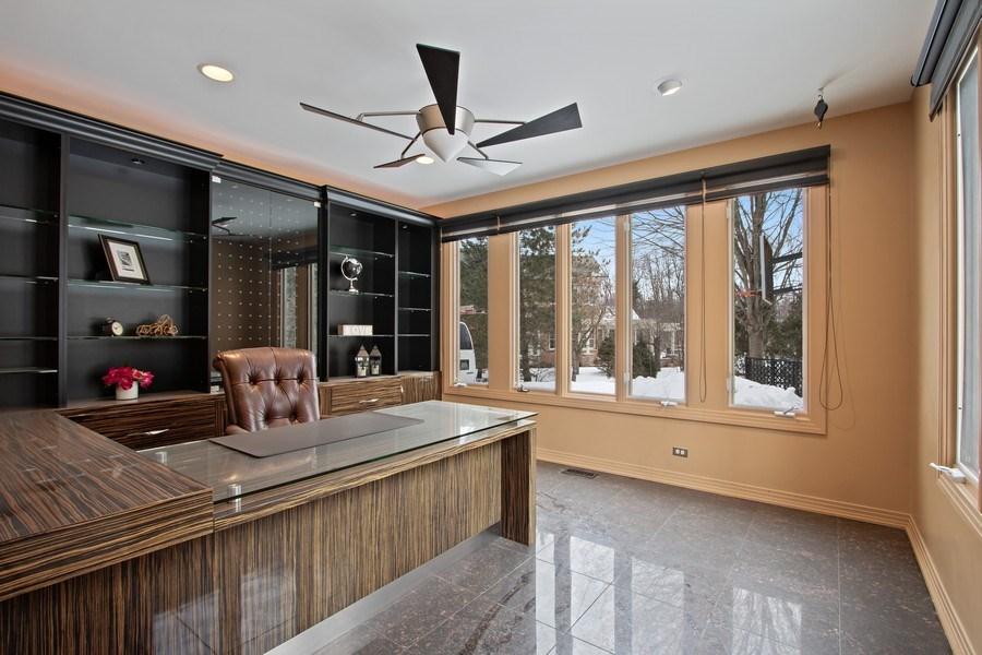 Real Estate Photography - 9 Bannockburn Ct, Bannockburn, IL, 60015 - Office