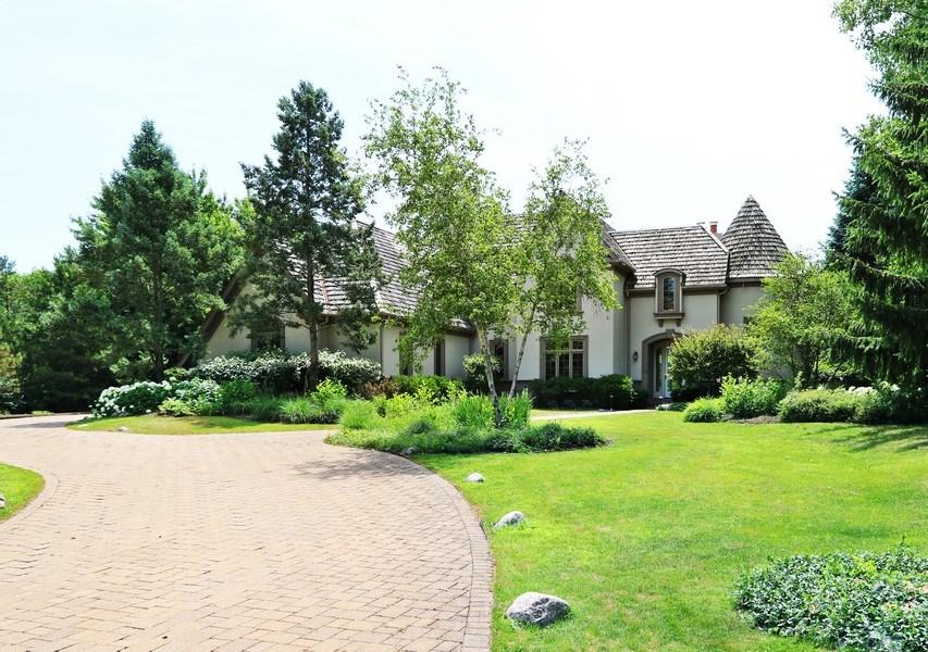 Real Estate Photography - 9 Bannockburn Ct, Bannockburn, IL, 60015 - Front View