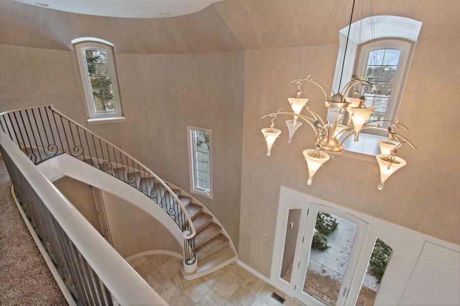 Real Estate Photography - 9 Bannockburn Ct, Bannockburn, IL, 60015 - Staircase