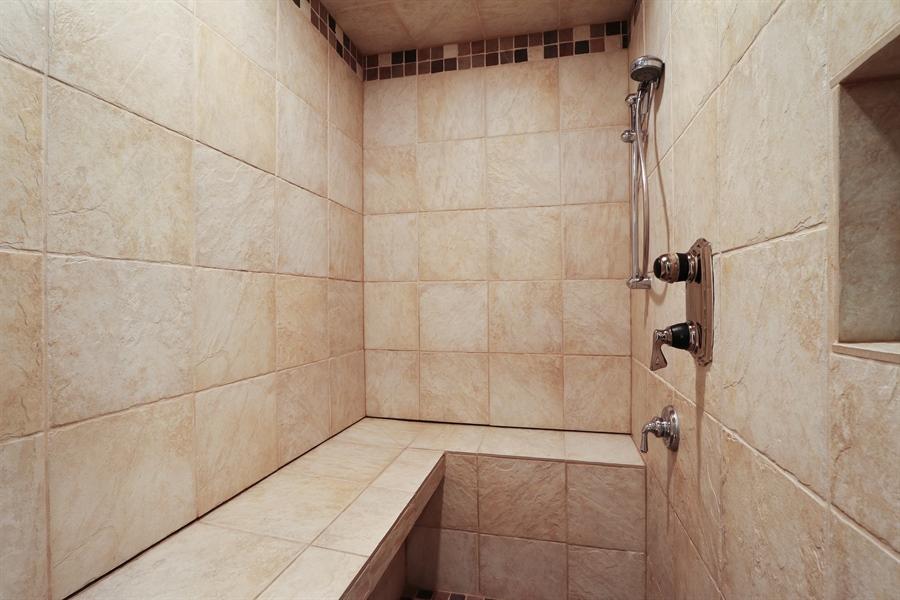 Real Estate Photography - 9 Bannockburn Ct, Bannockburn, IL, 60015 - Basement Steam Shower