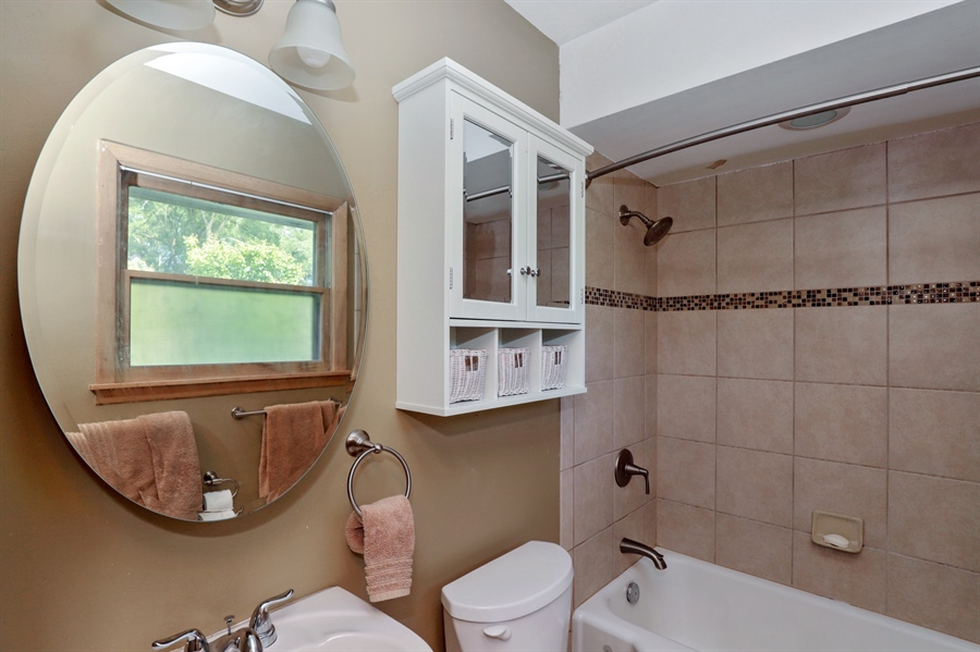Real Estate Photography - 757 Lincoln Ave, Lake Bluff, IL, 60044 - Master Bathroom