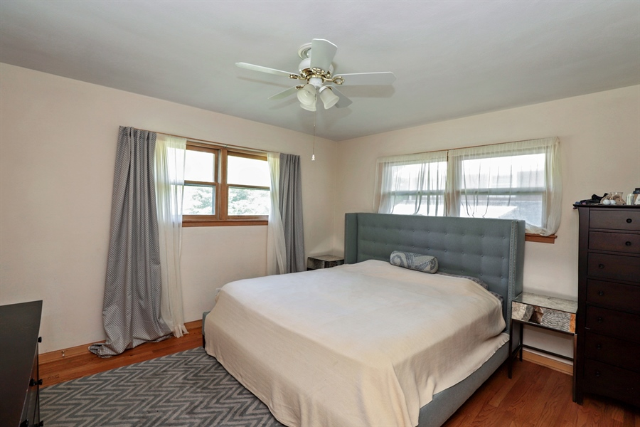 Real Estate Photography - 757 Lincoln Ave, Lake Bluff, IL, 60044 - Master Bedroom