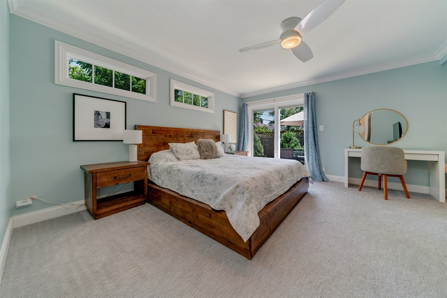 Real Estate Photography - 201 S Monroe St, Hinsdale, IL, 60521 - Master Bedroom