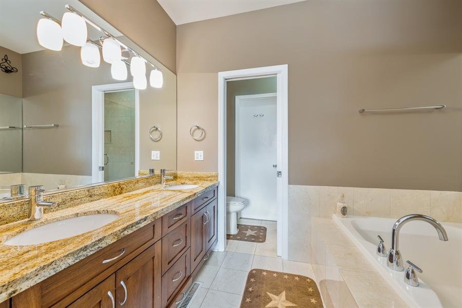 Real Estate Photography - 537 N Hartland, Chicago, IL, 60622 - Master Bathroom