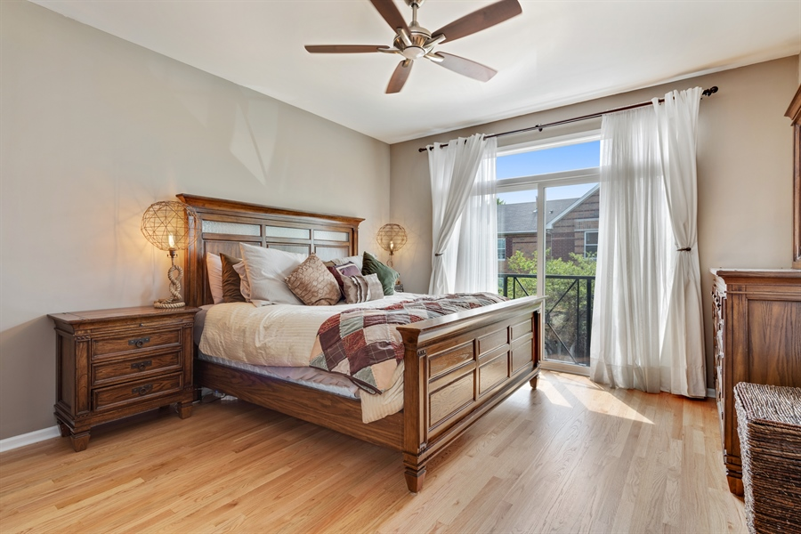 Real Estate Photography - 537 N Hartland, Chicago, IL, 60622 - Master Bedroom