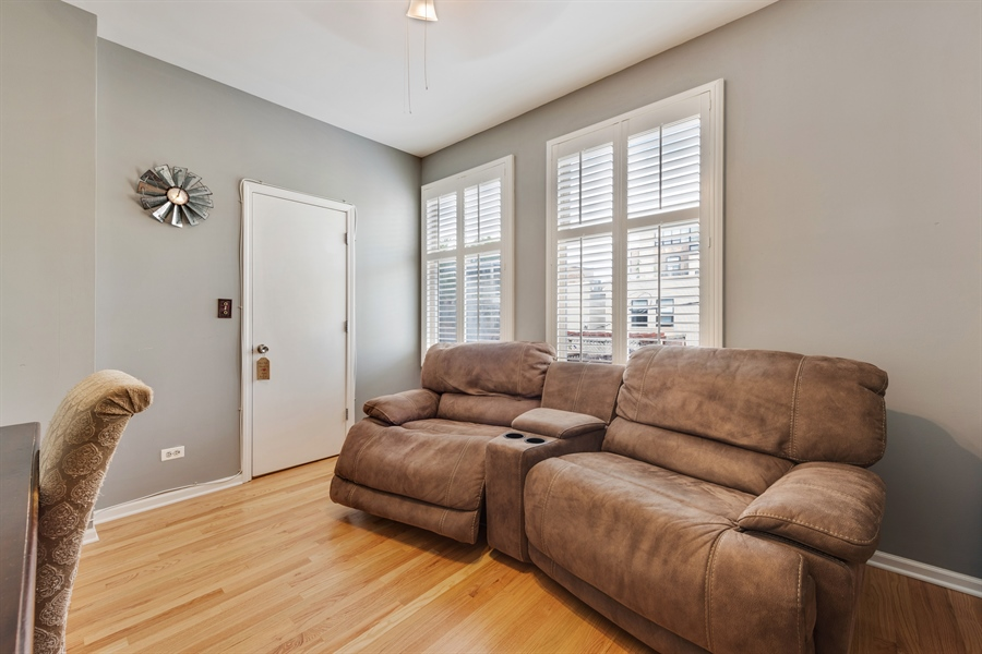 Real Estate Photography - 537 N Hartland, Chicago, IL, 60622 - 2nd Bedroom