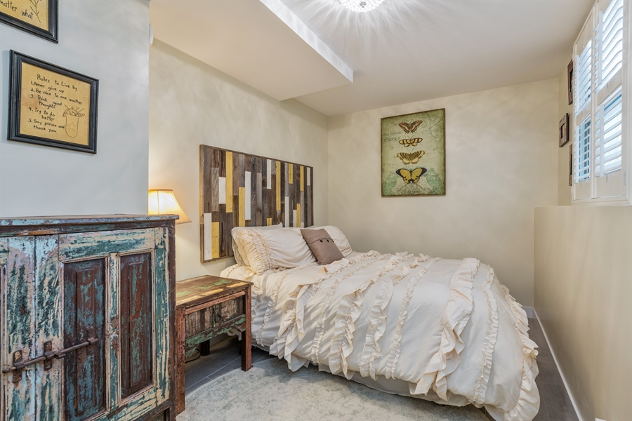 Real Estate Photography - 537 N Hartland, Chicago, IL, 60622 - 3rd Bedroom