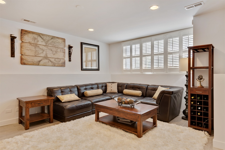 Real Estate Photography - 537 N Hartland, Chicago, IL, 60622 - Family Room
