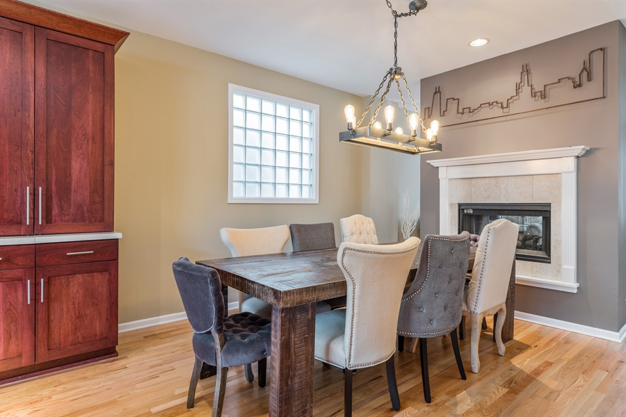 Real Estate Photography - 537 N Hartland, Chicago, IL, 60622 - Dining Area