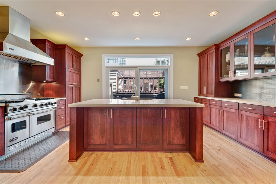 Real Estate Photography - 537 N Hartland, Chicago, IL, 60622 - Kitchen