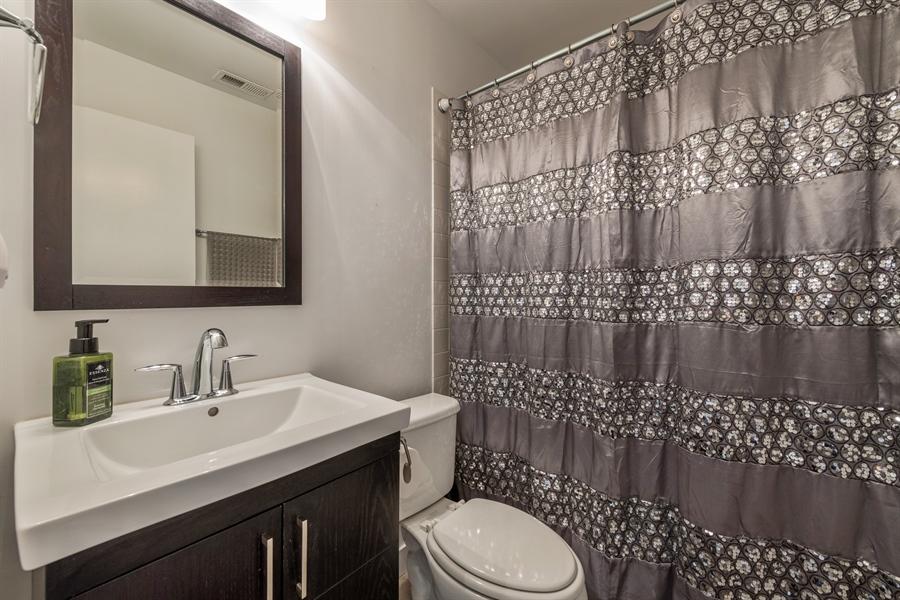 Real Estate Photography - 537 N Hartland, Chicago, IL, 60622 - Bathroom
