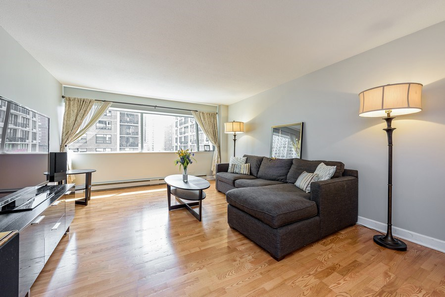 Real Estate Photography - 1415 N Dearborn, 8B, Chicago, IL, 60610 - Living Room