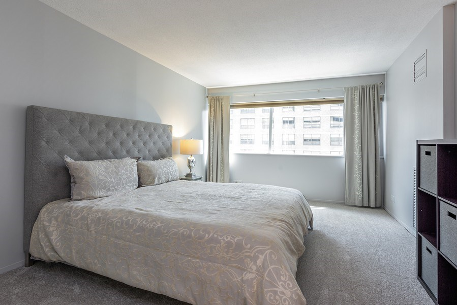 Real Estate Photography - 1415 N Dearborn, 8B, Chicago, IL, 60610 - Master Bedroom