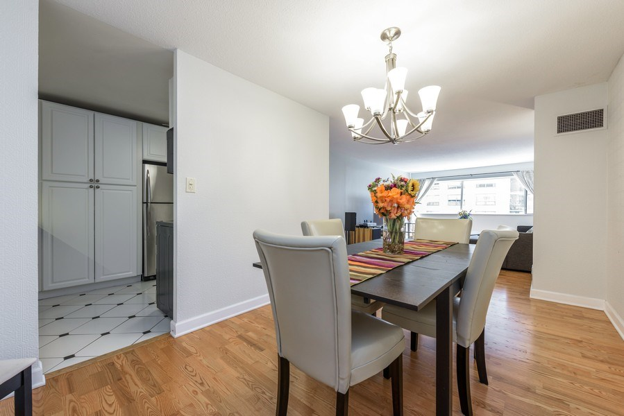 Real Estate Photography - 1415 N Dearborn, 8B, Chicago, IL, 60610 - Kitchen / Dining Room