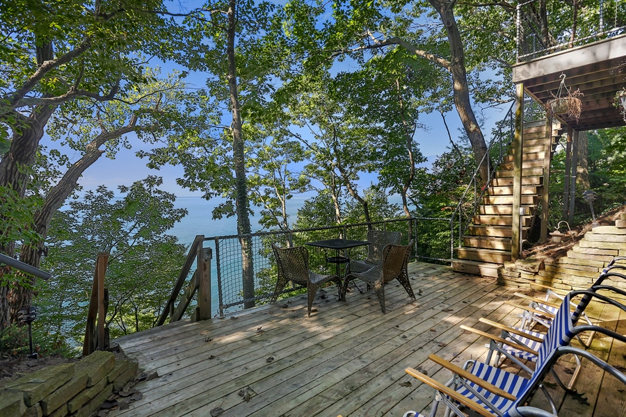 Real Estate Photography - 13726 Suns End, Harbert, MI, 49115 - Deck
