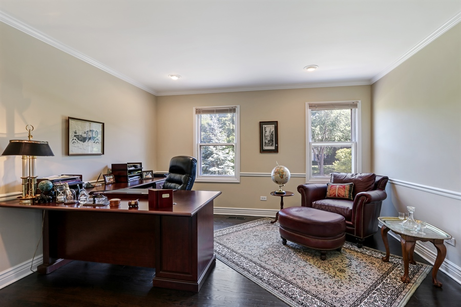 Real Estate Photography - 1680 Ridge Rd, Lake Forest, IL, 60045 - 2nd Bedroom